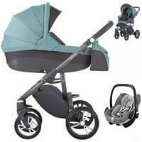 Wózek 3w1 BEBETTO HOLLAND + fotelik Maxi Cosi PEBBLE PRO
