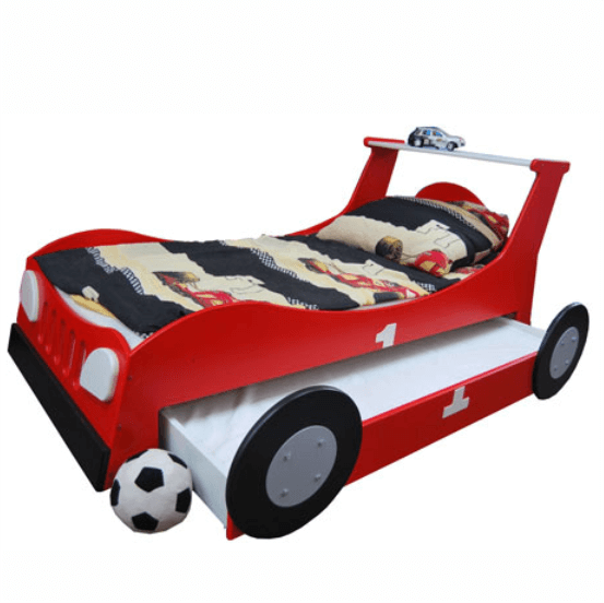 ko dzieci ce z szuflad 90x180 babybest turbo car. Black Bedroom Furniture Sets. Home Design Ideas