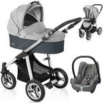 Baby Design LUPO <b><font color=blue>2015</b></font> (3w1) w�zek g��boko-spacerowy + fotelik Maxi Cosi CABRIO FIX