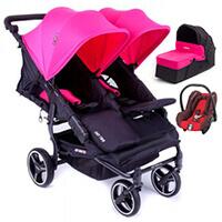 BABY MONSTERS EASY TWIN 3.0S wózek 3w1 | MAXI COSI CITI
