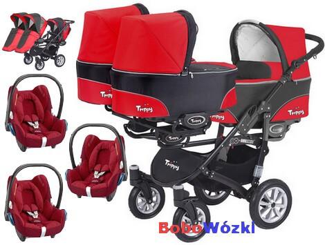 Babyactive Trippy + 3 foteliki Maxi Cosi Cabrio FIX