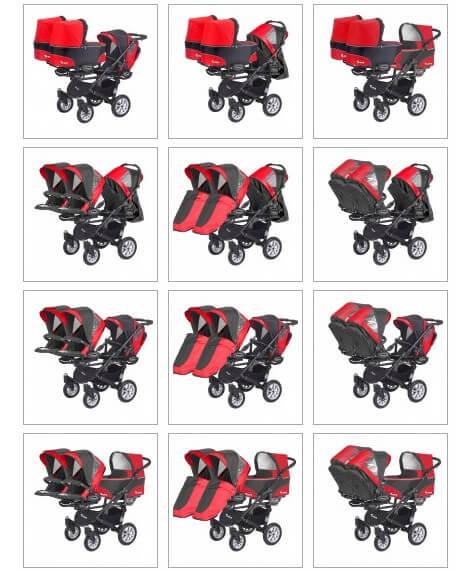 Babyactive Twinni spacerówka