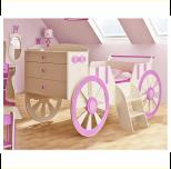 BABYBEST KARETA łóżko 80x160