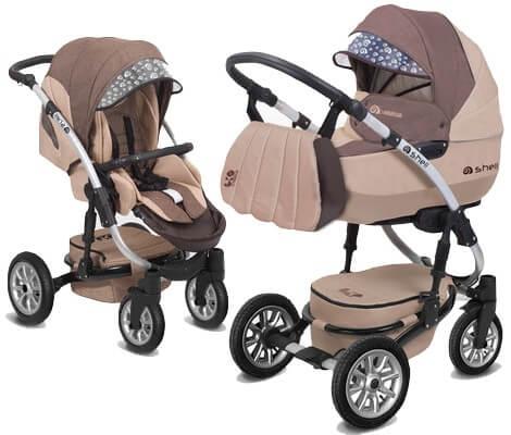 Babyactive wózek Shell Eko