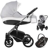 Wózek dziecięcy 3w1 BEBETTO TITO PREMIUM CLASS + fotelik Swandoo ALBERT LITE