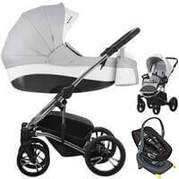 Wózek dziecięcy 3w1 BEBETTO TITO PREMIUM CLASS + fotelik Swandoo ALBERT