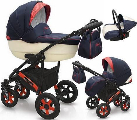 Camarelo wózek Q Sport Chrome