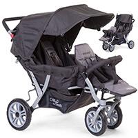 Wózek spacerowy Childhome TRIPLETTE