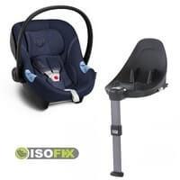 Fotelik samochodowy CYBEX ATON M dla dzieci 0-13kg + baza ISOFIX BASE M