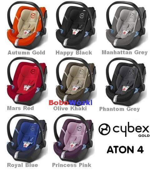 Cybex Aton 4 kolory