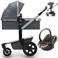 Wózek 3w1 JOOLZ DAY 3 STUDIO + fotelik BeSafe iZi GO MODULAR i-Size