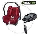 MAXI COSI zestaw: fotelik CABRIO FIX <font color=blue><b>2013</b></font> + baza do auta FAMILY FIX