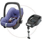 MAXI COSI zestaw: fotelik PEBBLE <font color=blue><b>2013</b></font> + baza do auta EASY BASE 2