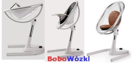 MIMA MOON krzesełko do karmienia 3w1 z wkładką w zestawie