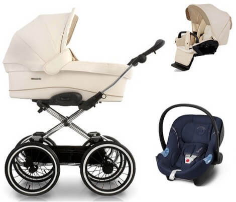 Navington Caravel Royal z Cybex Aton Basic