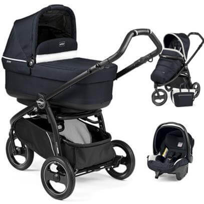 Wózek 3w1 PEG PEREGO BOOK SCOUT POP-UP + fotelik + torba 1