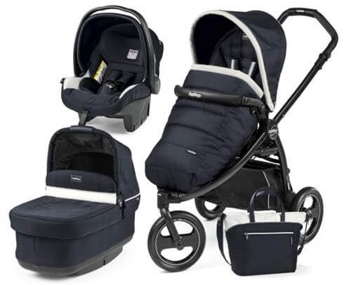Wózek 3w1 PEG PEREGO BOOK SCOUT POP-UP + fotelik + torba 2
