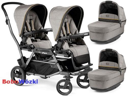 Wózek bliźniaczy Duette Piroet dla noworodków