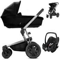 Wózek głęboko-spacerowy QUINNY BUZZ XTRA + fotelik Maxi Cosi PEBBLE PRO
