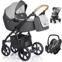 Wózek 3w1 ROAN ESSO + fotelik Maxi Cosi PEBBLE PRO