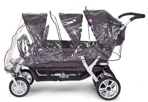 Wózek Triplette SW z fotelikami