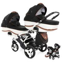 Wózek bliźniaczy TAKO DALGA LIFT DUO SLIM + torby