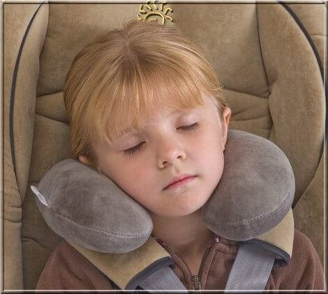Sunshine Kids Travel Pillow
