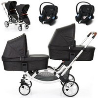 ABC DESIGN ZOOM w�zek g��boko-spacerowy + 2 foteliki Cybex ATON BASIC