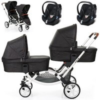 ZOOM <font color=blue><b>2014</b></font> w�zek spacerowy + 2 foteliki Maxi Cosi PEBBLE