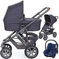 Wózek 3w1 ABC DESIGN SALSA 4 AIR + fotelik MAXI COSI CITI