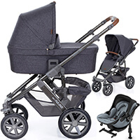 ABC DESIGN SALSA 4 AIR wózek 3w1 | fotelik KIDDY EVOLUNA 2 i-Size