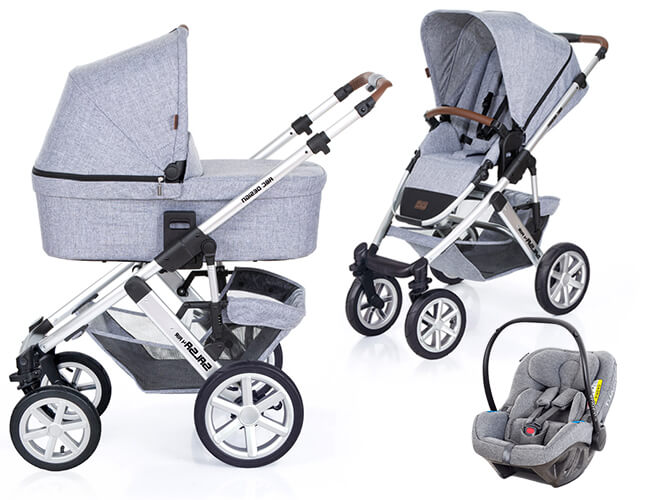 3w1 ABC DESIGN SALSA 4 + fotelik KIDDY EVOLUNA I-SIZE