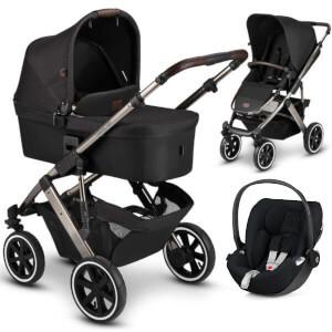 ABC DESIGN SALSA 4 AIR Diamond wózek 3w1 | fotelik CYBEX CLOUD Z i-Size