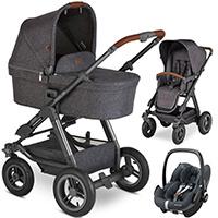 Wózek 3w1 ABC Design VIPER 4 + fotelik Maxi Cosi PEBBLE PRO