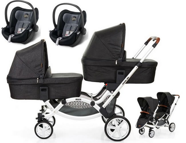 3w1 ABC DESIGN ZOOM + 2 foteliki Cybex Cloud Q