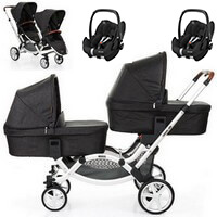 Wózek 3w1 ABC DESIGN ZOOM + 2 foteliki MAXI COSI PEBBLE PRO