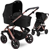 Wózek dziecięcy 2w1 ABC DESIGN SALSA 4 AIR Rose Gold