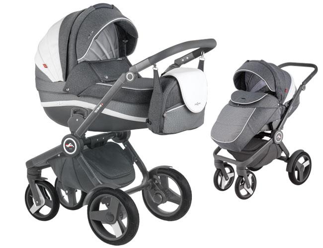 Детская коляска 2 в 1 ADAMEX AVATOR 1