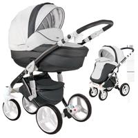Wózek dziecięcy 2w1 ADAMEX BARLETTA DELUXE