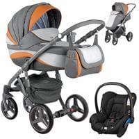 Wózek 3w1 ADAMEX BARLETTA NEW + fotelik Maxi Cosi CITI