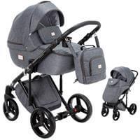 Wózek dziecięcy 2w1 ADAMEX LUCIANO + torba