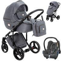 Wózek 3w1 ADAMEX LUCIANO + fotelik Maxi Cosi CABRIO FIX