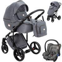 Wózek 3w1 ADAMEX LUCIANO + fotelik Maxi Cosi CITI