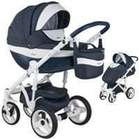 Wózek dziecięcy 2w1 ADAMEX MONTE DELUXE CARBON