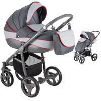 Wózek dziecięcy 2w1 ADAMEX NEONEX ALFA
