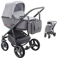 Wózek dziecięcy 2w1 ADAMEX REGGIO