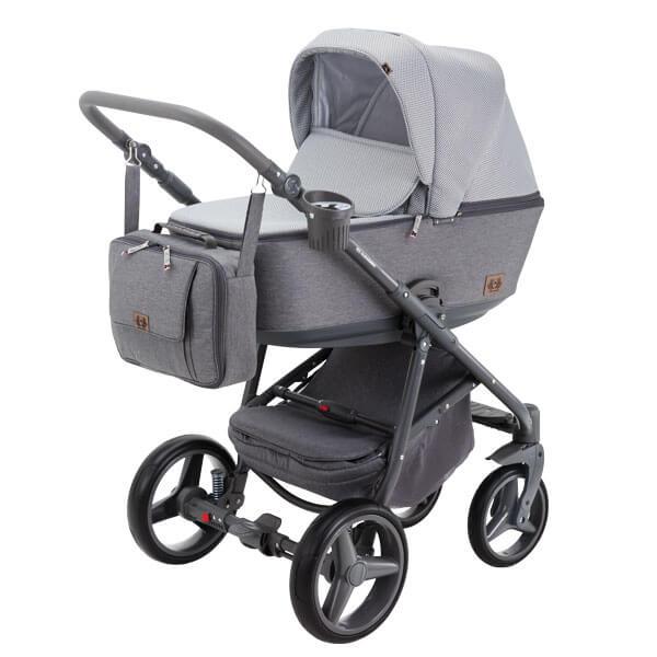 Wózek dziecięcy 2w1 ADAMEX REGGIO 2