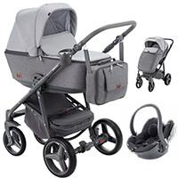 Wózek 3w1 ADAMEX REGGIO + fotelik BeSafe iZi GO Modular i-Size