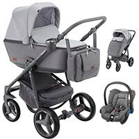 Wózek 3w1 ADAMEX REGGIO + fotelik Maxi Cosi CITI