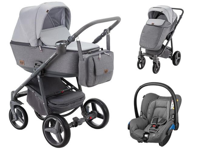 Wózek dziecięcy 2w1 ADAMEX REGGIO 1